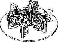 Technical Drawings for the Three-Phase Stirling Engine Prototype