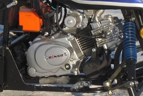 Блок мотора мини снегохода