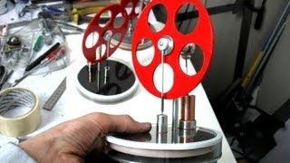 Двигатель стирлинга своими руками чертежи фото 48
