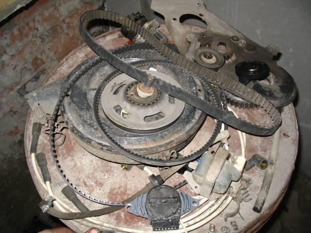 Как не снимая двигатель поменять кольца на