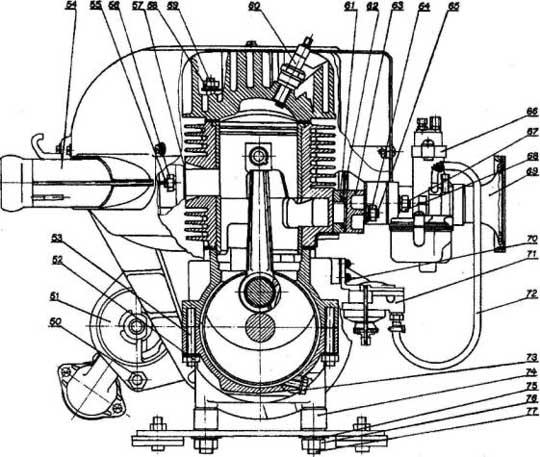 Схема редуктора буран