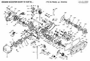 Двигатель 3kj в схеме